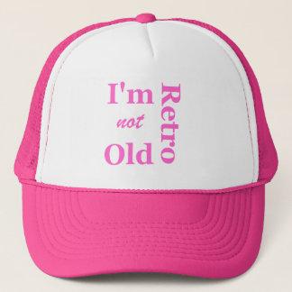 Je ne suis pas vieux je suis rétro casquette de