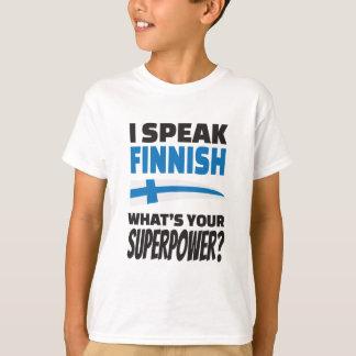 Je parle finlandais - quelle est la votre t-shirt