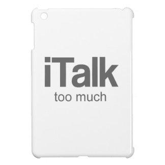 Je parle trop - la conception drôle coque iPad mini
