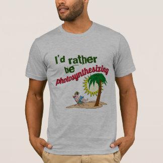 Je photosynthétiserais plutôt t-shirt