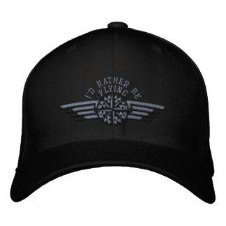 Je piloterais plutôt des ailes de pilote de chapeau brodé
