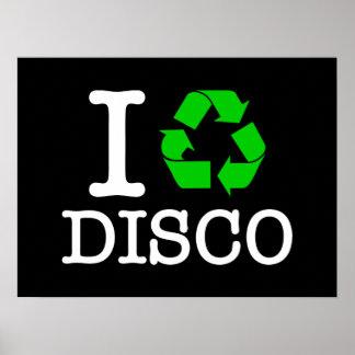 Je réutilise la disco poster