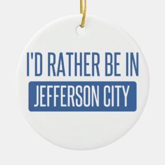 Je serais plutôt dans jefferson city ornement rond en céramique