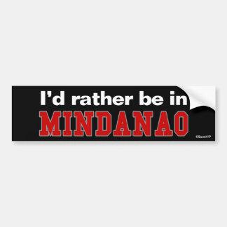 Je serais plutôt dans Mindanao Autocollant De Voiture