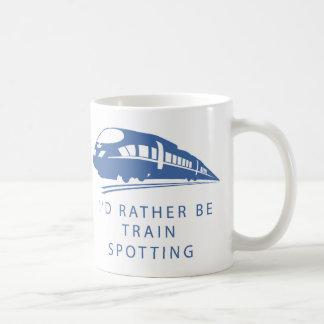 Je serais plutôt tasse de cadeau de tache de train