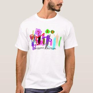 Je soutiens l'autisme t-shirt