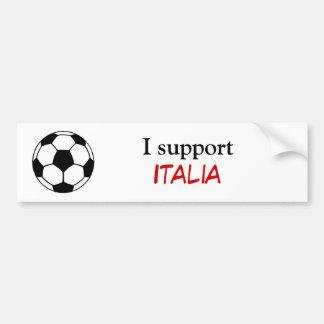 Je soutiens l'Italie Adhésifs Pour Voiture