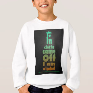 je suis alcool sweatshirt