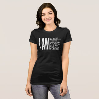 JE SUIS bon vibraphone de message positif T-shirt