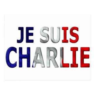 Je Suis Charlie Carte Postale