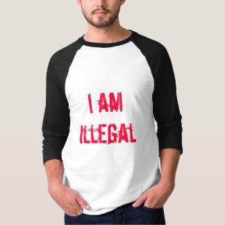 Je suis illégal - T-shirt