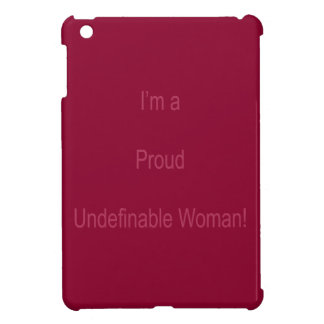 Je suis indéfinissable coque pour iPad mini