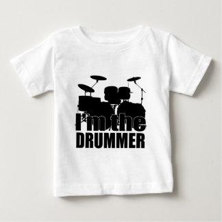 Je suis le batteur t-shirt pour bébé