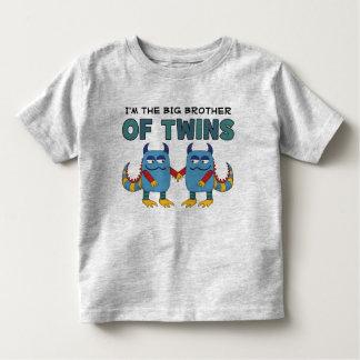 Je suis le frère des jumeaux t-shirt pour les tous petits