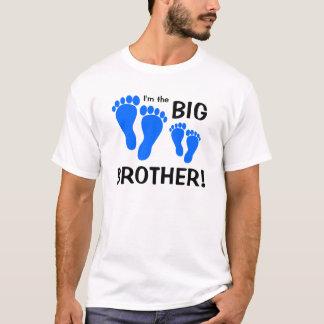 Je suis le frère - empreintes de pas t-shirt