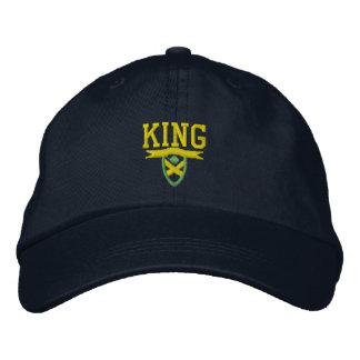 Je suis le Roi Embroidered Hat Casquette De Baseball