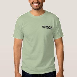 JE SUIS le T-shirt brodé par FOULE