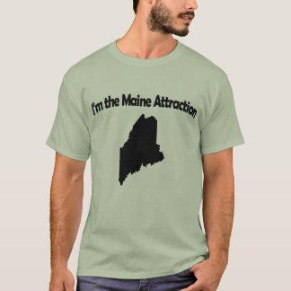 Je suis le T-shirt drôle du Maine d'attraction du