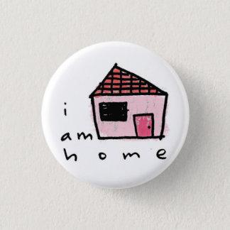 je suis maison badge rond 2,50 cm