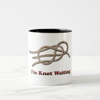 Je suis noeud attendant - tasse