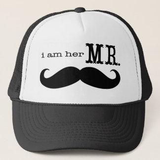 Je suis son M. Mustache Grooms Gifts Casquette Trucker