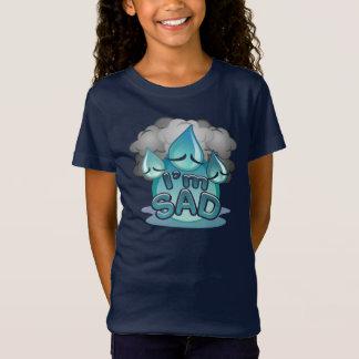 Je suis T-shirt triste de marine de filles