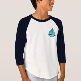 Je suis T-shirt triste de raglan de marine