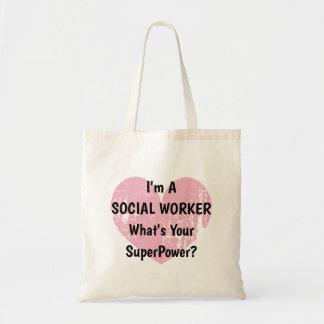 Je suis un assistant social ce qui est votre sac