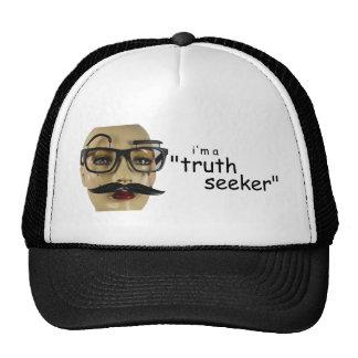 """Je suis un """"chercheur de vérité """" casquette"""