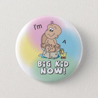 Je suis un grand enfant maintenant badge rond 5 cm