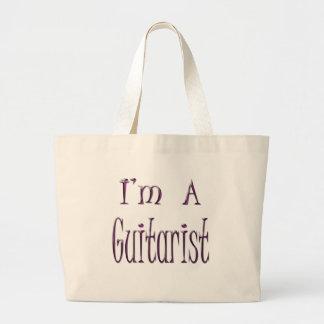 Je suis un guitariste grand sac