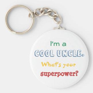 Je suis un oncle frais. Quelle est la votre Porte-clé Rond