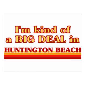 Je suis un peu une AFFAIRE en Huntington Beach Carte Postale
