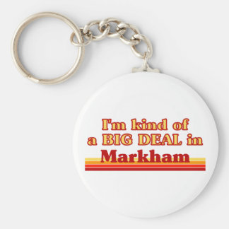 Je suis un peu une affaire en Markham Porte-clés