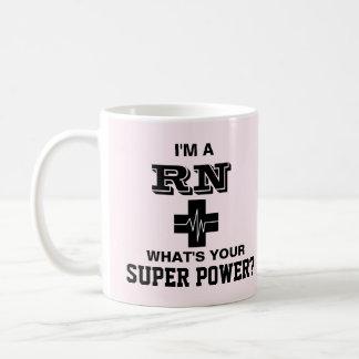 Je suis un RN ce qui est votre super pouvoir Mug