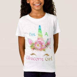 Je suis un T-shirt de filles de couleurs d'or de