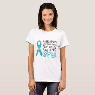Je suis un T-shirt superbe de maman d'allergie