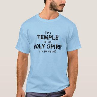 Je suis un temple du T-shirt de Saint-Esprit