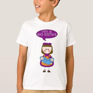 je suis une grande soeur ! (garçons jumeaux) t-shirt