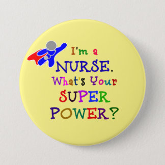 Je suis une infirmière. Quelle est la votre Badge Rond 7,6 Cm