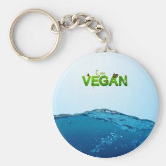 Je suis végétalien porte-clés