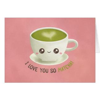 Je t'aime ainsi carte de voeux de Valentines de
