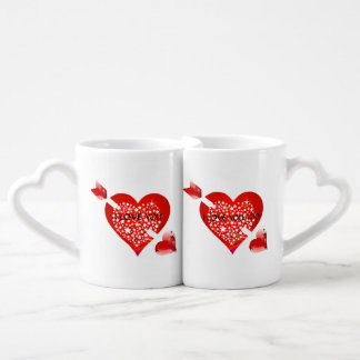 Je t'aime lot de mugs