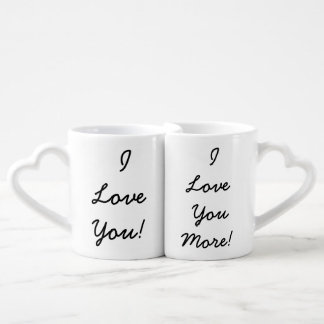 Je t'aime tasses
