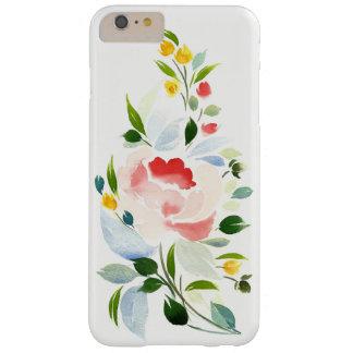 je téléphone 6 la couverture plus, fleurs florales coque iPhone 6 plus barely there