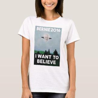 Je veux croire au T-shirt de Bernie
