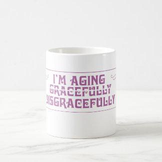 Je vieillis honteusement mug
