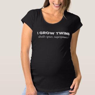J'élève des jumeaux, ce qui est la votre T-Shirt de maternité