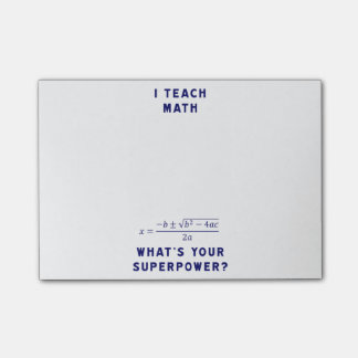 J'enseigne à des maths ce qui est la votre