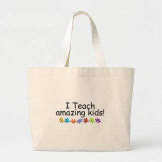J'enseigne les enfants extraordinaires (pp) grand sac